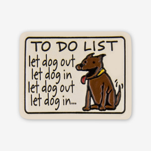 Spooner Creek: Magnet Tiles: To Do List For Dogs