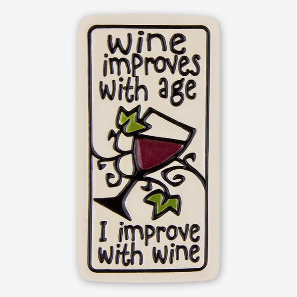 Spooner Creek: Magnet Tiles: Wine Improves With Age