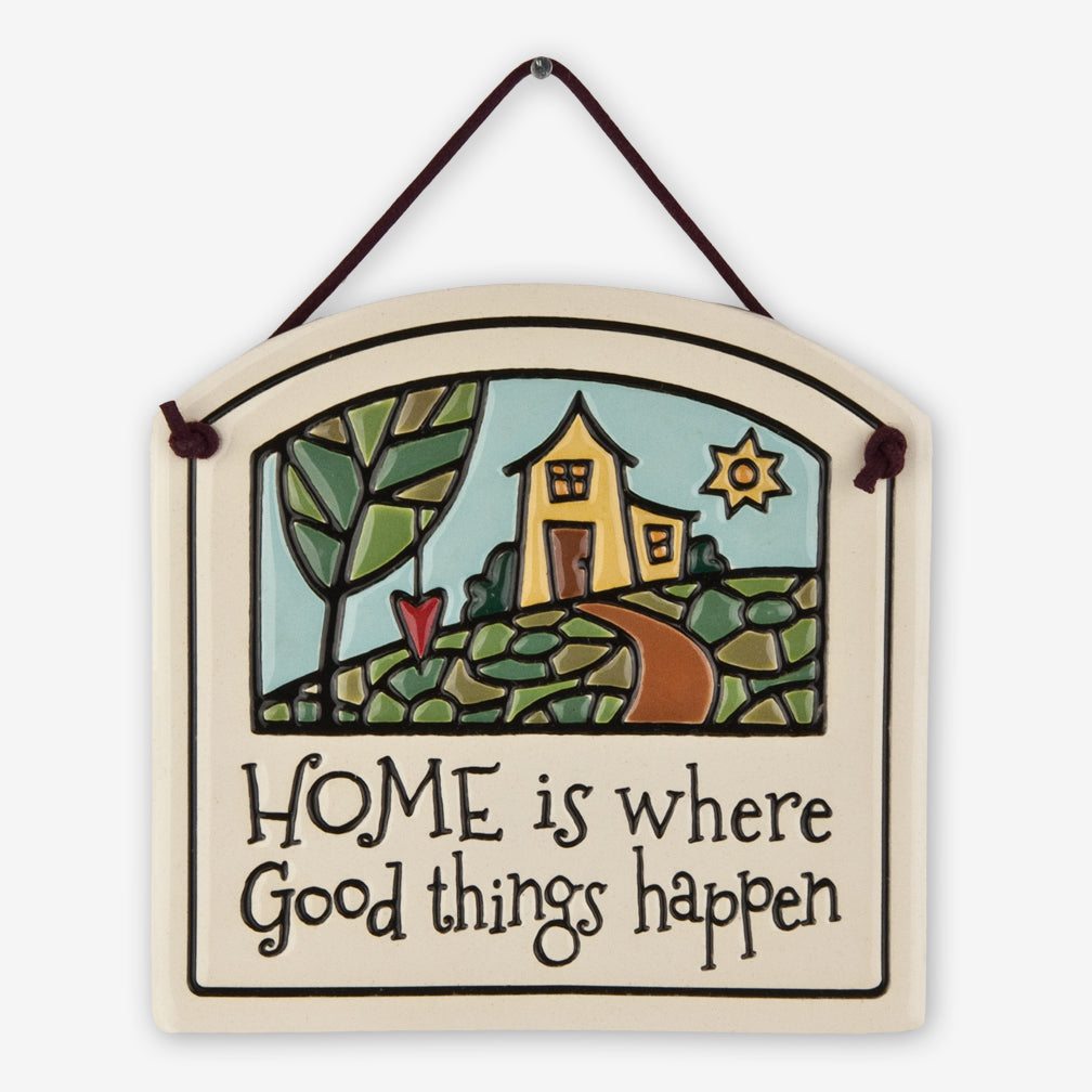 Spooner Creek: Small Arch Tiles: Home is Where
