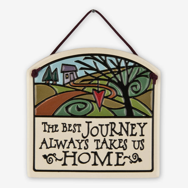 Spooner Creek: Small Arch Tiles: Journey Takes Us Home
