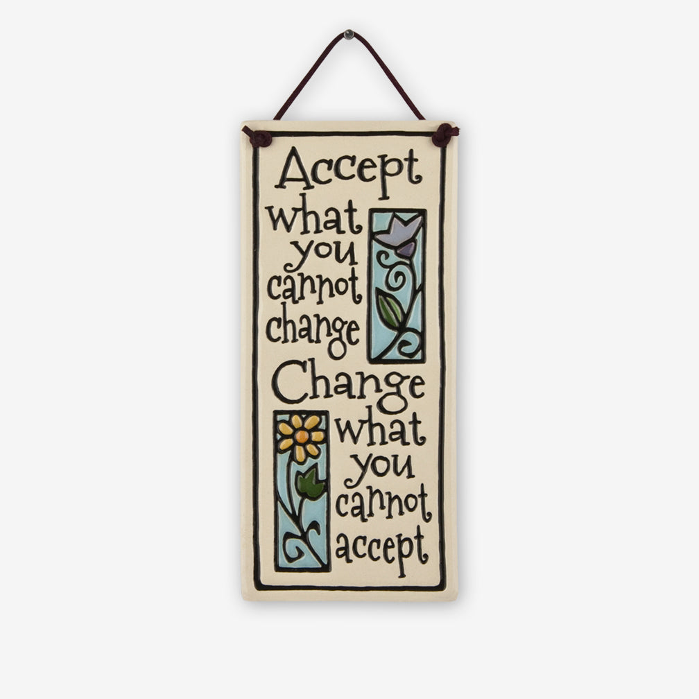 Spooner Creek: Small Tall Tiles: Accept Change
