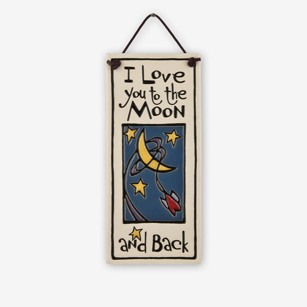 Spooner Creek: Small Tall Tiles: To the Moon and Back