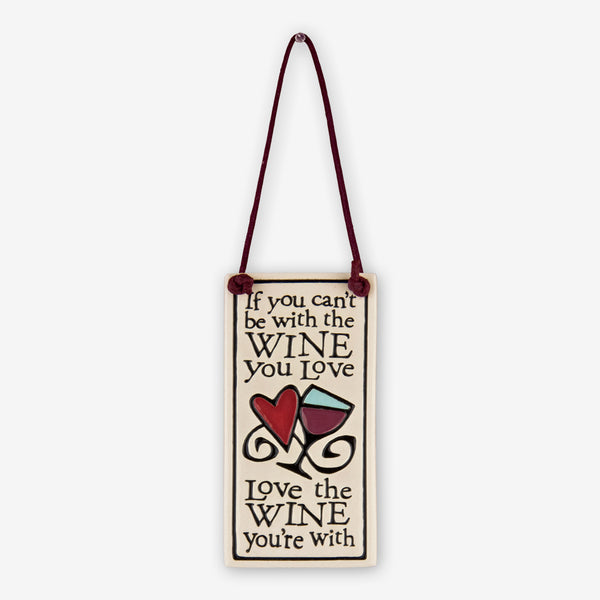 Spooner Creek: Wine Tag Tiles: If You Can't Be With The Wine You Love
