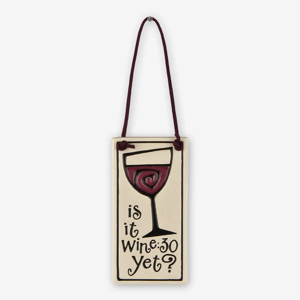 Spooner Creek: Wine Tag Tiles: Is It Wine:30 Yet?