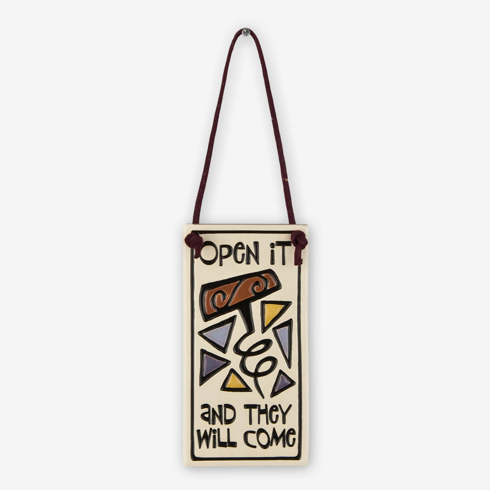 Spooner Creek: Wine Tag Tiles: Open It and They Will Come