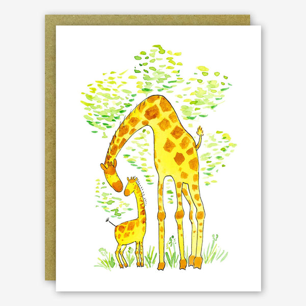 SquidCat, Ink Baby Card: Giraffes