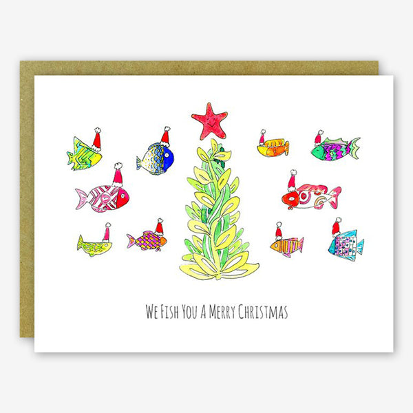 SquidCat, Ink Christmas Card: We Fish You a Merry Christmas