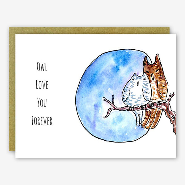 SquidCat, Ink Love Card: Love Owl
