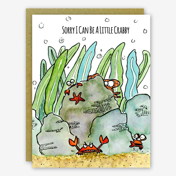 SquidCat, Ink Sorry Card: Crabby