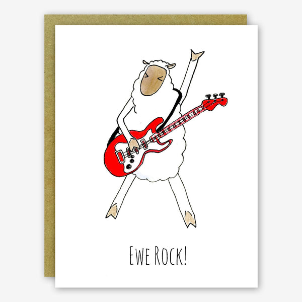 SquidCat, Ink Thank You Card: Ewe Rock