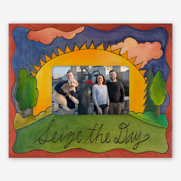 Sticks: 4x6 Photo Frame: Seize the Day