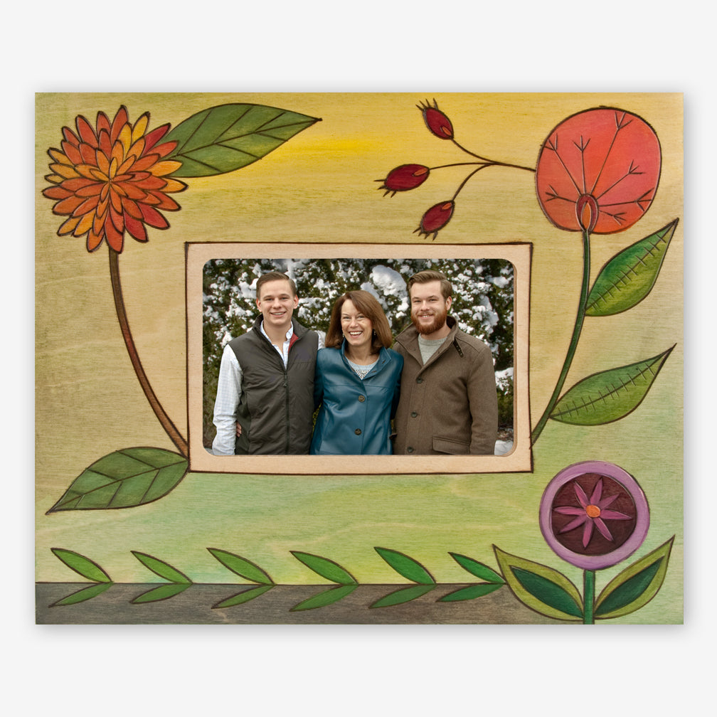 Sticks: 4x6 Photo Frame: Spring Flowers