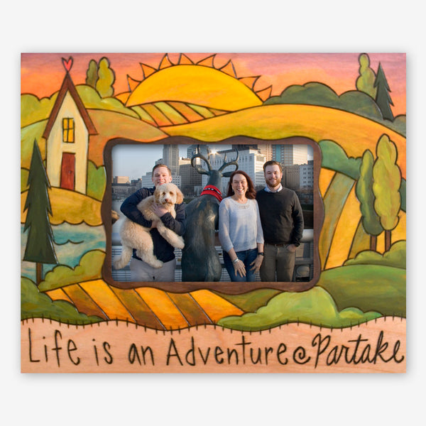 Sticks: 5x7 Photo Frame: Life is an Adventure