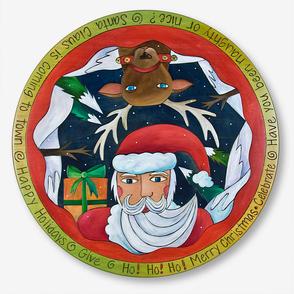 Sticks: Lazy Susan: Santa Claus