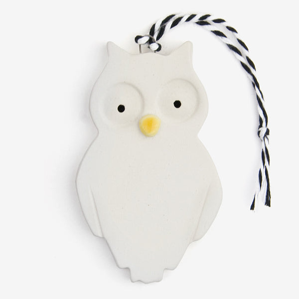 Tasha McKelvey: Ceramic Owl Ornament