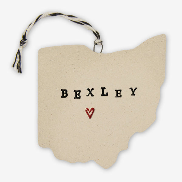 Tasha McKelvey: Ceramic Bexley, Ohio Ornament