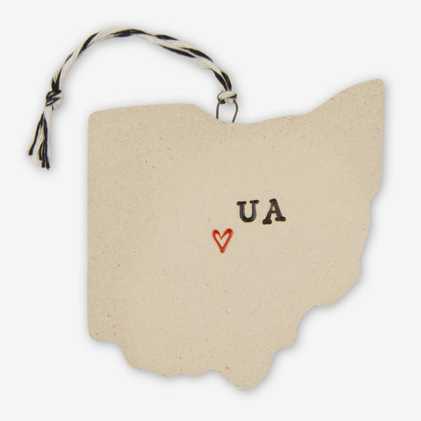 Tasha McKelvey: Ceramic Upper Arlington, Ohio Ornament