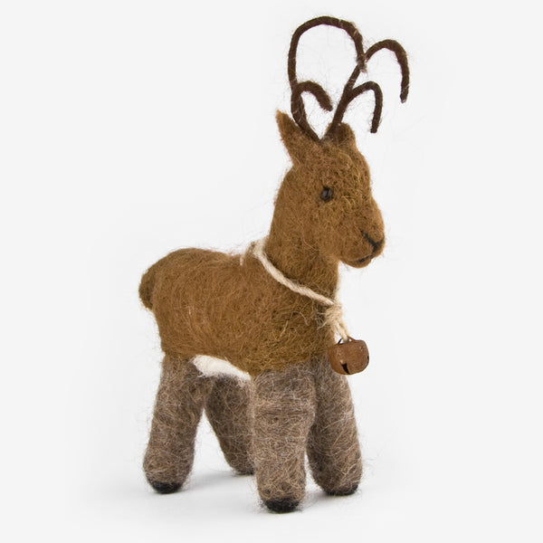 The Au Gres Sheep Factory: Needlefelt Ornaments: Reindeer
