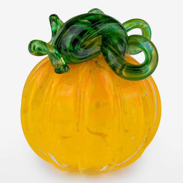 The Glass Forge: Large Pumpkin: Yellow