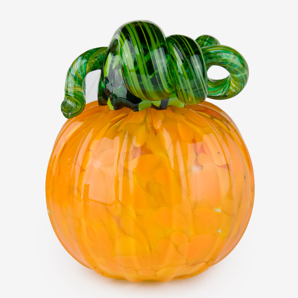 The Glass Forge: Medium Pumpkin: Yellow