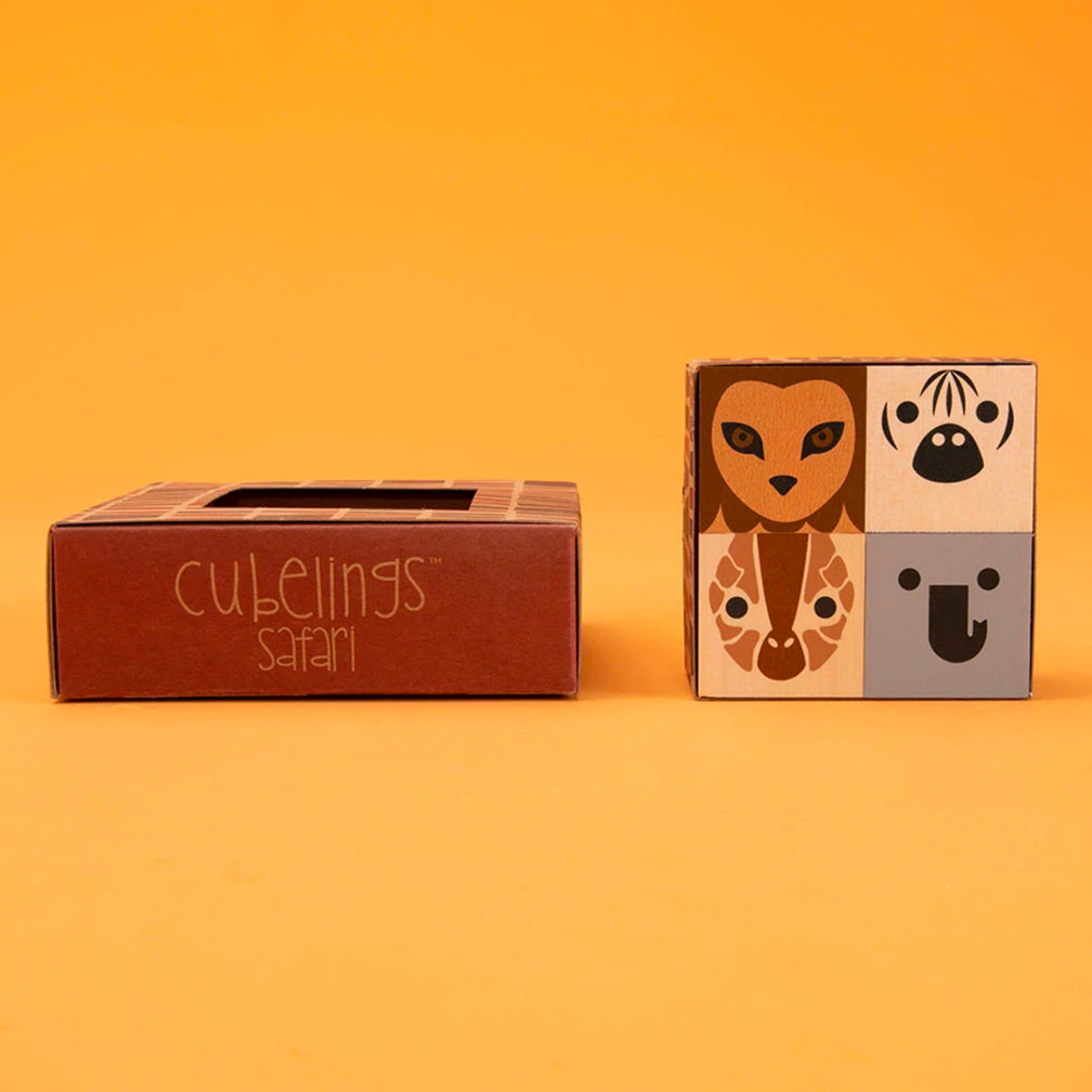 Uncle Goose: Cubelings Safari Blocks