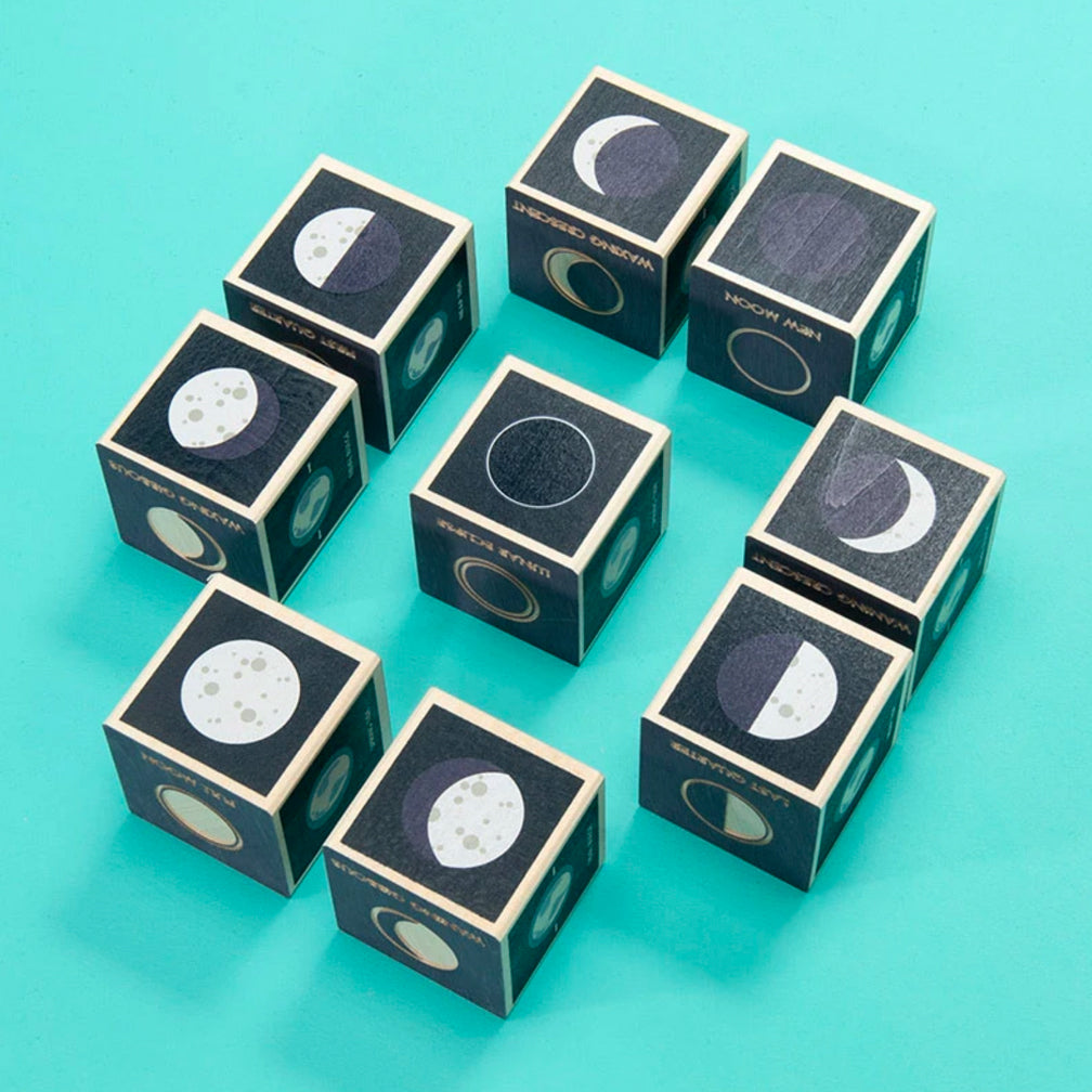 Uncle Goose: Moon Phase Blocks