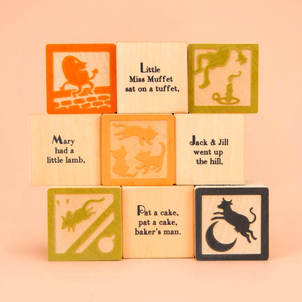 Uncle Goose: Nursery Rhyme Favorite Blocks