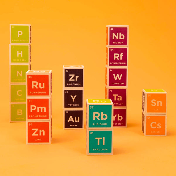 Uncle Goose: Periodic Table Blocks