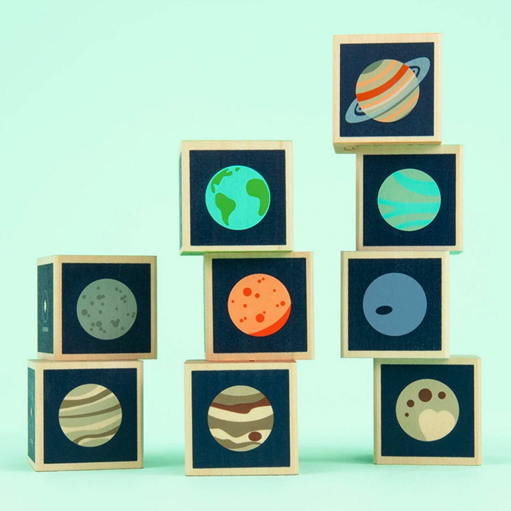 Uncle Goose: Planets Blocks
