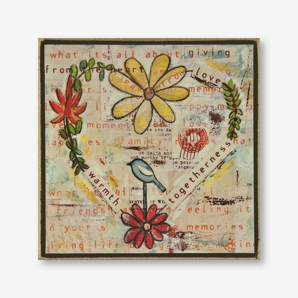 Vintage Girl Designs: Plaque: Giving