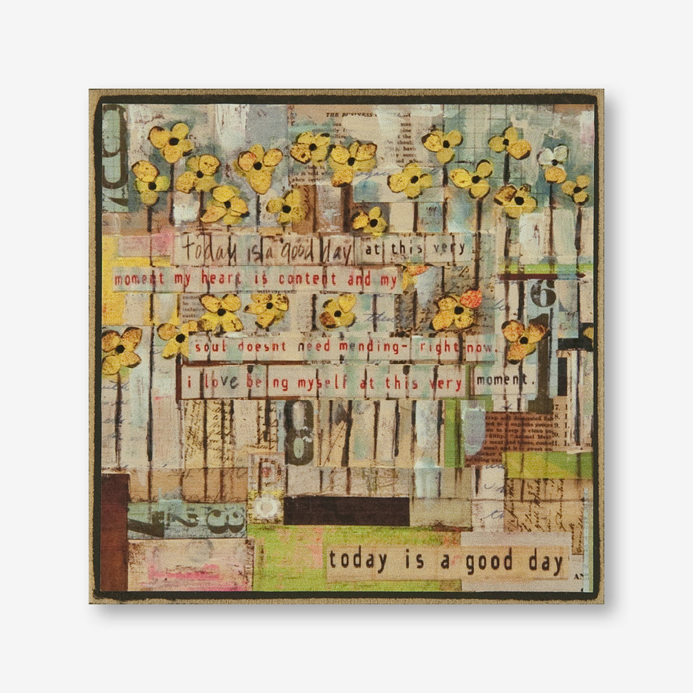 Vintage Girl Designs: Plaque: Today