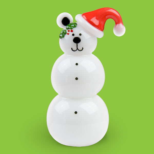 Vitrix Hot Glass Studio: Snowmen: Bear