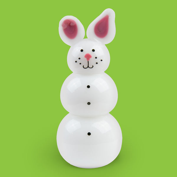 Vitrix Hot Glass Studio: Snowmen: Bunny
