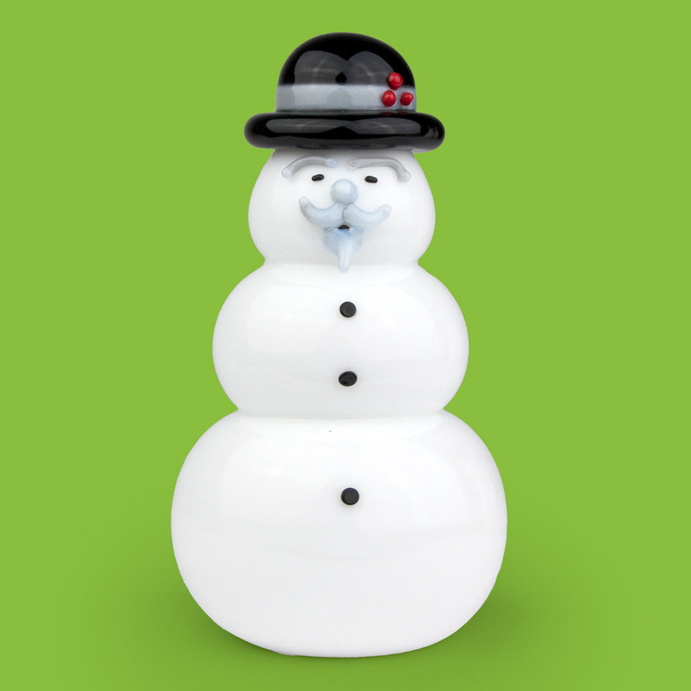 Vitrix Hot Glass Studio: Snowmen: Burl Ives