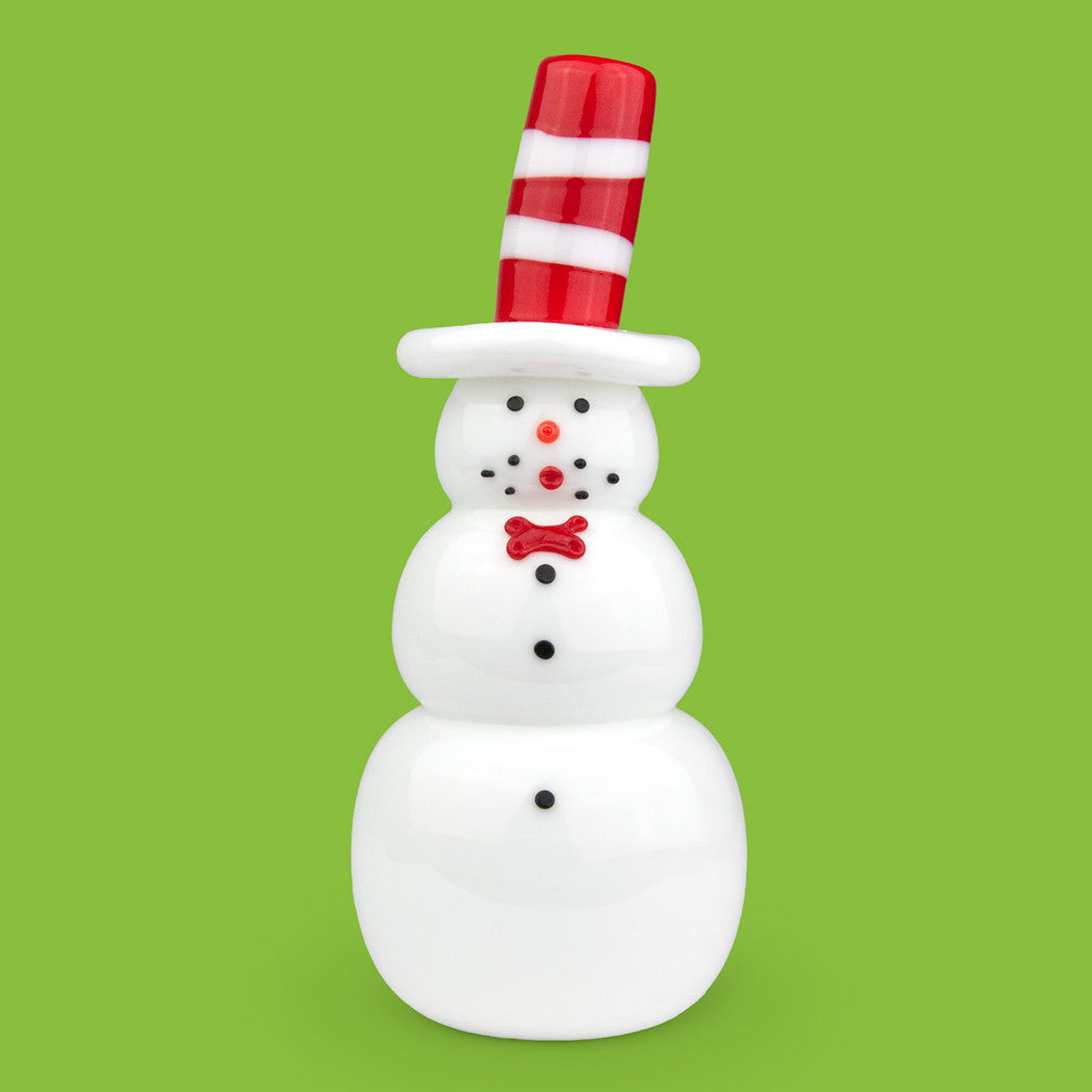 Vitrix Hot Glass Studio: Snowmen: Cat and the Hat