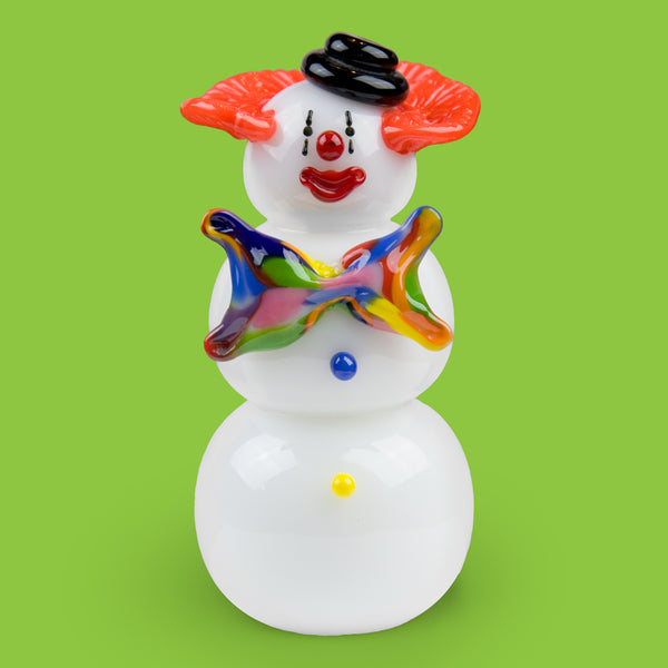 Vitrix Hot Glass Studio: Snowmen: Clown