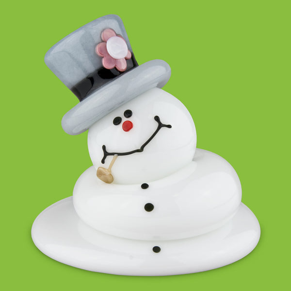Vitrix Hot Glass Studio: Snowmen: Frosty Melted