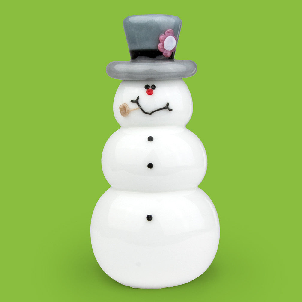 Vitrix Hot Glass Studio: Snowmen: Frosty
