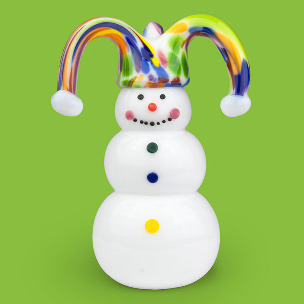 Vitrix Hot Glass Studio: Snowmen: Jester
