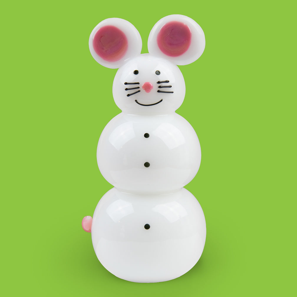 Vitrix Hot Glass Studio: Snowmen: Mouse