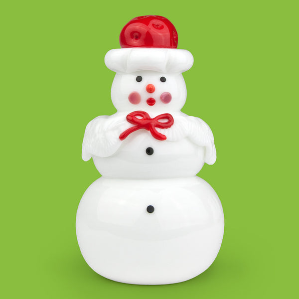 Vitrix Hot Glass Studio: Snowmen: Mrs. Claus