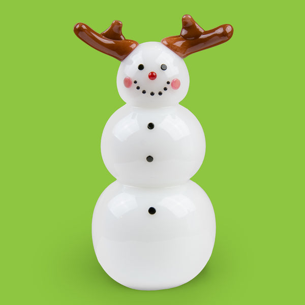 Vitrix Hot Glass Studio: Snowmen: Reindeer