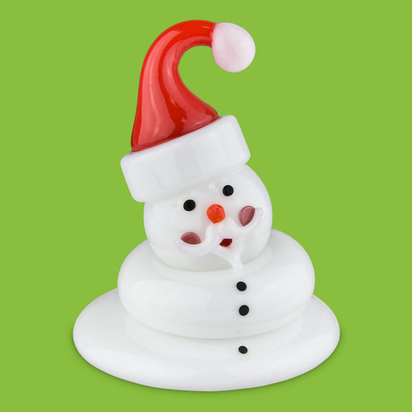 Vitrix Hot Glass Studio: Snowmen: Santa Melted