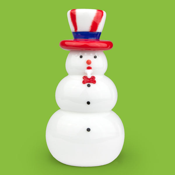 Vitrix Hot Glass Studio: Snowmen: Uncle Sam