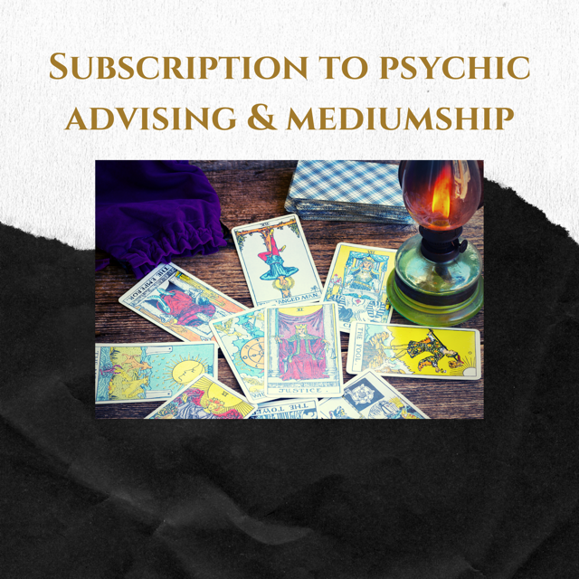 Psychic Advising & Mediumship Subscription