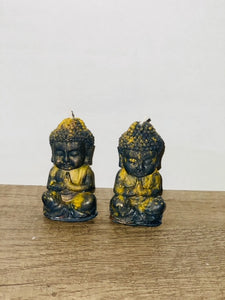 Intention Candles - Abundant Buddha Tealight Set