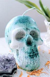 Intention Candle - High Energy Skull