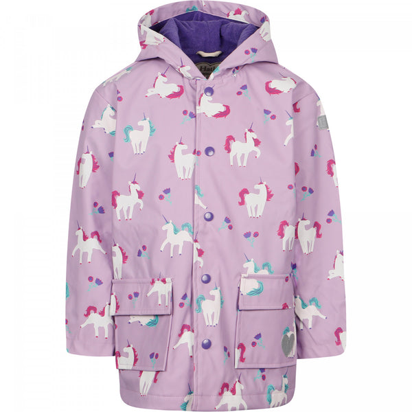 Hatley Unicorn Colour Changing Raincoat
