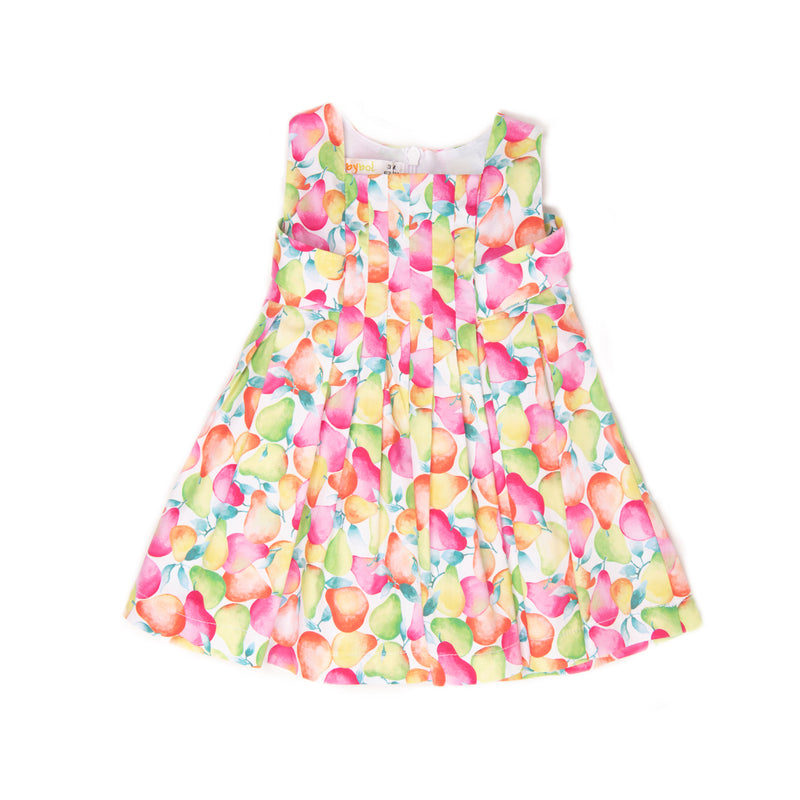 Babybol Girl Green Pears Dress