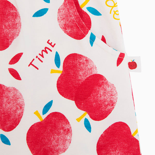 TucTuc Girl Red Apples Dress